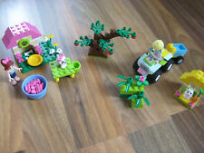 Lego Friends Set Paket Hund Hundesalon Hase Auto Tiere neuwertig 3934 3935 Anlei