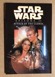 Star Wars Attack of The Clones ~ 1st Trade Paperback Dark Horse Comics ~ 2002 NM