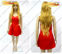 Panty & Stocking with Garterbelt Panty cosplay costume red dress