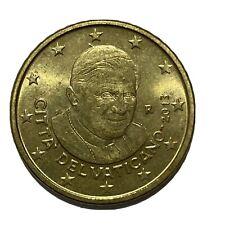 50 CENT 2013 -  EURO- VATICANO - RARO - 5.2.10