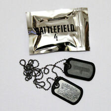 Battlefield 4 Rare Promo Dog Tags Tag Necklace Xbox 360 One PS4 PS3 PC