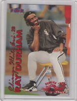 1999 Fleer Tradition Warning Track White Sox Baseball Card #87 Ray Durham