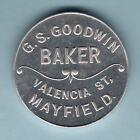 Australia. BREAD TOKEN. G.S.Goodwin - Baker, Mayfield.. UNC (Thick flan??)