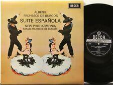 SXL 6355 WB 1G 1G Albeniz Suite Espanola, De Burgos, New Philharmonia Orchestra