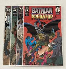 Batman vs Predator II Complete Set #1 2 3 4 - DC / Dark Horse Comics