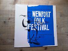 Newport Folk Festival Volume 2 Very Good Vinyl Record Top Rank 35/071