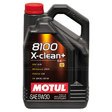 Motul 8100 X-Clean+ 5W-30 Performance Full Synthetic Engine Oil - 5 Litres 5L