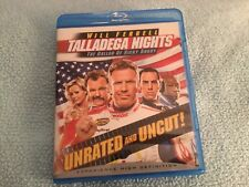 Talladega Nights The Ballad of Ricky Bobby Unrated and Uncut Blu-Ray Movie