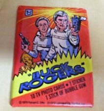 Topps 1979 Buck Rogers wax pack of bubble gum trading cards