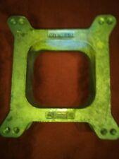 Carburetor Spacer Mr Gasket 6007 Rat Rod Hot Rod Sbc Holley Carter Cfm Hp Racing
