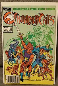 Thundercats 1 Newsstand Star Comics Marvel First Print