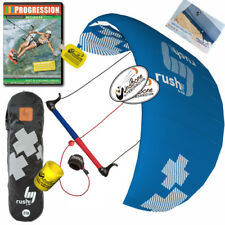 HQ4 Rush Pro V 300 3M Trainer Kite Kiteboarding Surf + Progresion Beginner DVD
