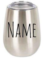 Name Amatic font vinyl decal sticker Decal, Yeti Tumbler , LAPTOP cars windows