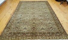 "Exquisite Cr1930-1939s Antique Wool Pile 5'9""×9' Floral Patterned Hereke Rug"