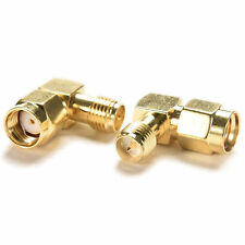 90°right angle Adapter RP.SMA male jack to RP.SMA female plug connector YF