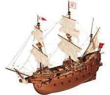 """Elegant, brand new wooden model ship kit by Occre: the """"San Martin"""" galleon"""