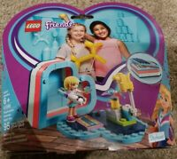 LEGO® Friends - Stephanie's Summer Heart Box 41386 95 Pcs New