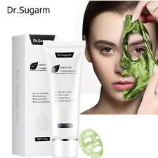 40g Dr.Sugarm Green Tea Blackhead Mask Skin Care Remove Acne Nose Deep Cleansing