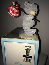 """LARGE 9cm / 3.5"""" HIGH BOXED ME TO YOU FIGURINE TATTY TEDDY BEAR ~ MOVING ON"""