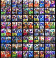 100 pcs Lot Pokemon TCG Pokemon EX CARDS 80 Basic 20 MEGA Brand Game Card Toy