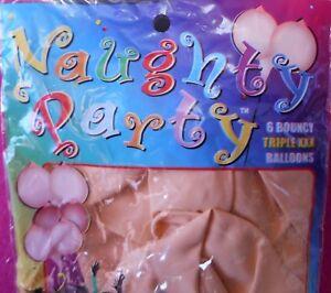 NEW Naughty Party Boobie Balloons