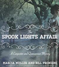 Carpenter and Quincannon Mystery: The Spook Lights Affair 2 - Bill Pronzini (CD)