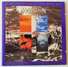 MARILLION - Season's End [Remaster](2 CD 1997, Santuary, US) MINT EXTREMELY RARE