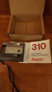 Vintage NOS Ansco 310 Disc Camera New in Factory Sealed box