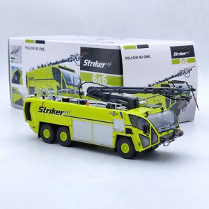 1/50 OSHKOSH AIRPORT PRODUCTS Fire Engine Striker 6X6 Truck Yellow Diecast