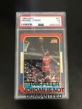 Chase To The 1986 Fleer Michael Jordan PSA 5