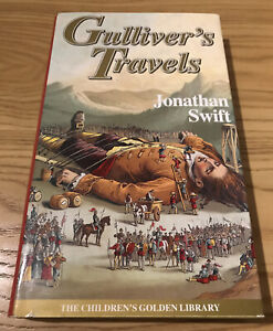 Gullivers Travels Hardback Book.  Jonathan Swift.  Very Good Condition