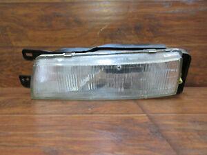 Nissan Stanza, 1990 1991 1992, Left Driver Headlight