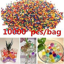 10000pcs Hydro Gel Pearls Beads Balls Water Plant Flower Jelly Crystal Soil Mud