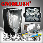 400W Magnetic ballast Grow tent OG hood reflector with MH/HPS lamps Timer Yoyo