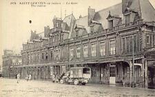SAINT-QUENTIN en ruines La Gare