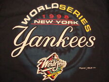 Vintage MLB New York Yankees Baseball 1998 World Series 90's Champion T Shirt XL