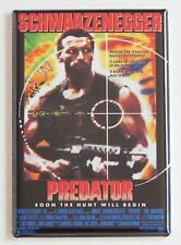 Predator FRIDGE MAGNET (2 x 3 inches) movie poster arnold schwarzenegger alien