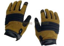 Condor HK226 STRYKER Anti-Slip Flexible Padded Knuckle Shooting Gloves - Tan/9