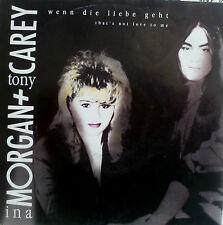 """7"""" 1991 RARE IN MINT -! INA Morgan & Tony Carey: se l'amore va"""