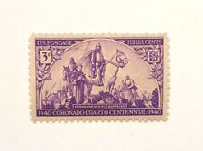 1940 3-Cent US Postage Stamp 400th Anniversary of the Coronado Expedition Issue