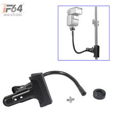 Clamp Clip Holder+Adapter Screw+Hot Shoe Mount f Flash Light Stand/Camera Tripod