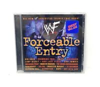 WWF Forceable Entry By Various Artists (CD, Mar-2002) With Best Value & Insert