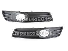 Fits AUDI A3 8P Front Bumper Lower Fog Light Grill PAIR LH+RH 2009-2012