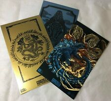 Godzilla: King of the Monsters Art Print Set 3 Prints 2019 Loot Crate Exclusive