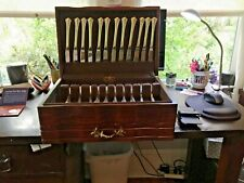New listing 60 Pc. Reed & Barton Sterling Silver 18th Eighteenth Century Set 12 Place Set