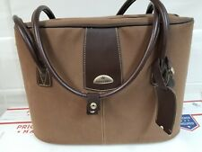 SAMSONITE Luggage Travel Bag Large Carry On Retro Tote Brown Breifcase