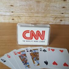 Vintage CNN Playing Cards - Cable News Network Card Deck - Complete