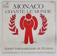 Caroline de Monaco 45 Tours Monaco chante le Monde 1979