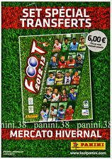 "RARE !!! SET TRANSFERTS ""FRENCH FOOT 2012/13"" PANINI ORIGINAL"