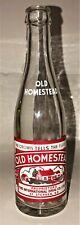 OLD HOMESTEAD - ACL POP BOTTLE - St. Stephen, New Brunswick, Canada 8 oz